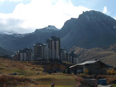 Location au ski Residence Moutieres B - Tignes - Extérieur été