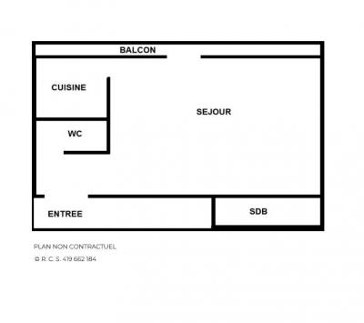 Location au ski Studio 4 personnes (32) - Residence Oisans - Les Menuires - Extérieur été