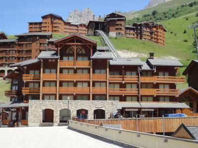 Location au ski Residence Olympie I - Mottaret - Extérieur été
