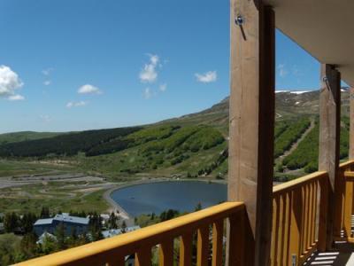 Location au ski Residence Ondeale - Super Besse - Extérieur été