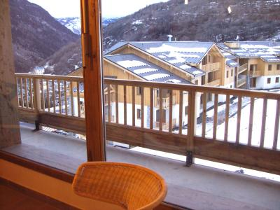 Holiday in mountain resort Résidence Orelle 3 Vallées By Résid&Co - Orelle - Balcony
