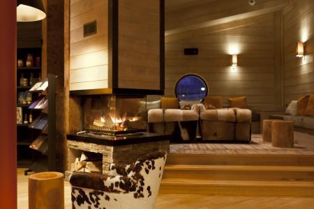 Vacances en montagne Résidence P&V Premium l'Amara - Avoriaz - Cheminée