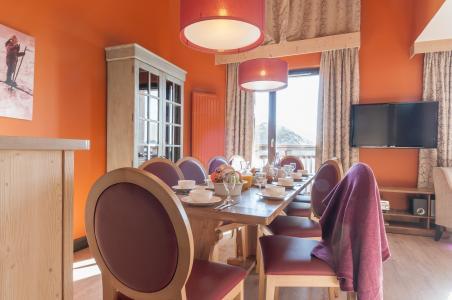 Vacances en montagne Résidence P&V Premium l'Amara - Avoriaz - Salle à manger