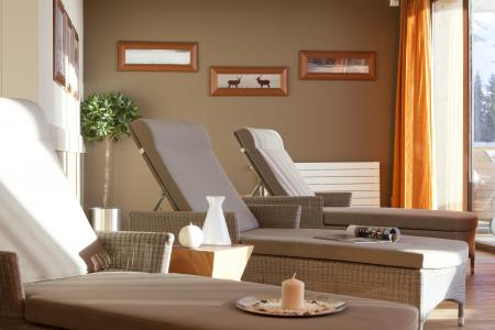 Vacances en montagne Résidence P&V Premium l'Amara - Avoriaz - Solarium