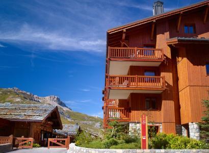 Location au ski Résidence P&V Premium l'Ecrin des Neiges - Tignes - Extérieur été