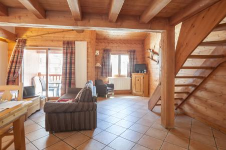 Vacances en montagne Résidence P&V Premium l'Ecrin des Neiges - Tignes - Canapé
