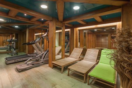 Vacances en montagne Résidence P&V Premium la Ginabelle - Chamonix - Espace fitness