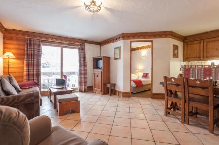 Urlaub in den Bergen Résidence P&V Premium la Ginabelle - Chamonix - Wohnzimmer