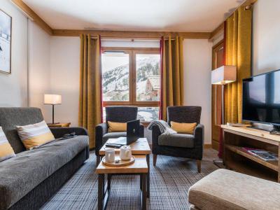 Vacances en montagne Appartement supérieur 3 pièces 6 personnes - Résidence P&V Premium le Village - Les Arcs