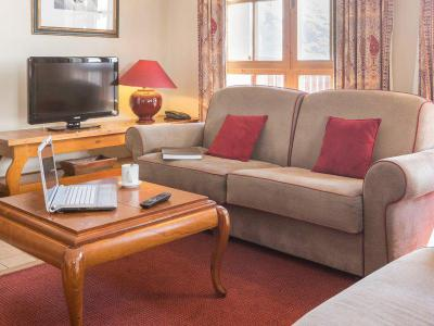 Vacances en montagne Appartement 5 pièces 10 personnes - Prince des Cîmes Supérieur - Résidence P&V Premium le Village - Les Arcs