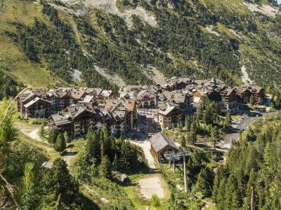 Vacances en montagne Résidence P&V Premium le Village - Les Arcs - Extérieur été