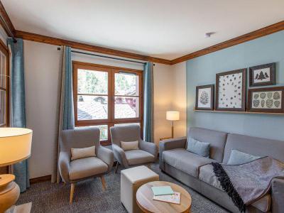 Vacances en montagne Appartement 3 pièces 6 personnes - Résidence P&V Premium le Village - Les Arcs - Canapé