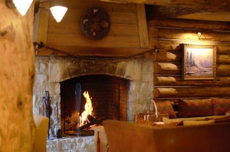 Vacances en montagne Résidence P&V Premium le Village - Les Arcs - Cheminée