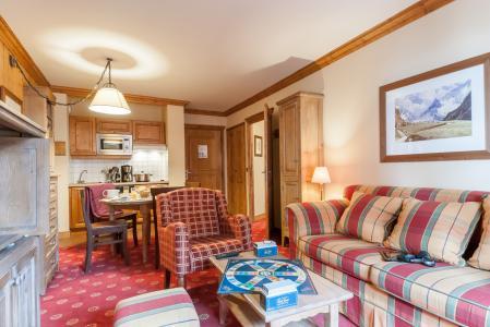 Vacances en montagne Résidence P&V Premium le Village - Les Arcs - Coin séjour