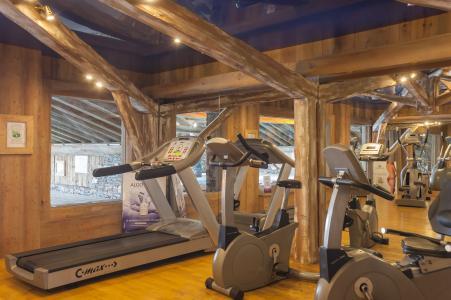 Vacances en montagne Résidence P&V Premium les Alpages de Reberty - Les Menuires - Espace fitness