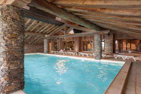 Vacances en montagne Résidence P&V Premium les Alpages de Reberty - Les Menuires - Piscine