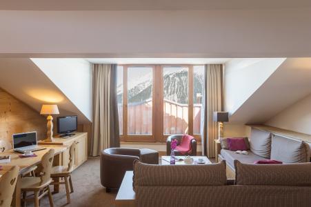 Vacances en montagne Résidence P&V Premium les Chalets du Forum - Courchevel - Coin séjour