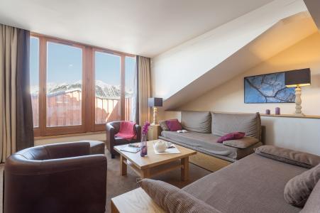 Vacances en montagne Résidence P&V Premium les Chalets du Forum - Courchevel - Séjour