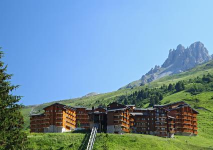 Location au ski Residence P&v Premium Les Crets - Mottaret - Extérieur été
