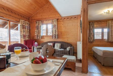 Vacances en montagne Résidence P&V Premium les Fermes de Méribel - Méribel - Séjour