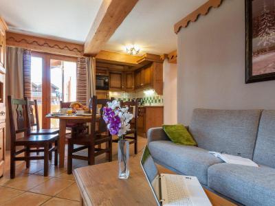 Vacances en montagne Appartement 2 pièces 4-6 personnes - Résidence P&V Premium les Fermes du Soleil - Les Carroz