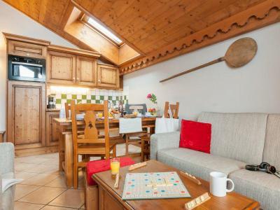 Vacances en montagne Appartement 3 pièces 6-7 personnes (Espace ) - Résidence P&V Premium les Fermes du Soleil - Les Carroz