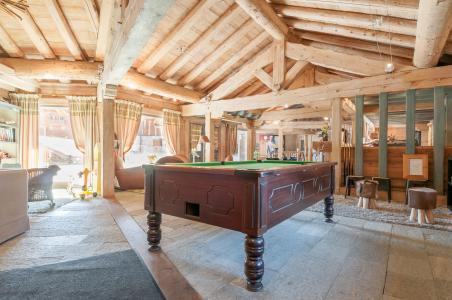 Vacances en montagne Résidence P&V Premium les Fermes du Soleil - Les Carroz - Billard
