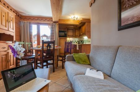 Vacances en montagne Résidence P&V Premium les Fermes du Soleil - Les Carroz - Canapé
