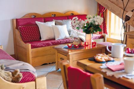 Vacances en montagne Résidence P&V Premium les Fermes du Soleil - Les Carroz - Coin séjour