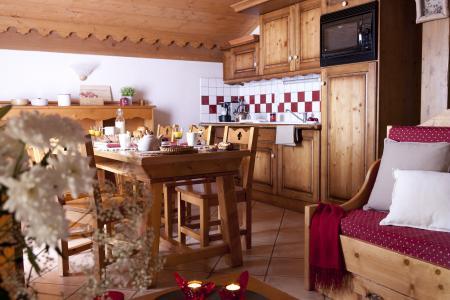 Vacances en montagne Résidence P&V Premium les Fermes du Soleil - Les Carroz - Cuisine
