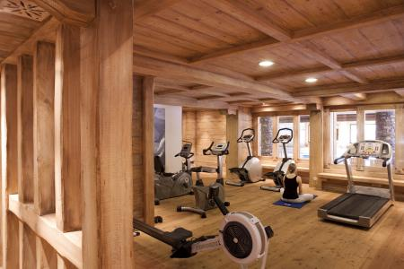 Vacances en montagne Résidence P&V Premium les Fermes du Soleil - Les Carroz - Espace fitness