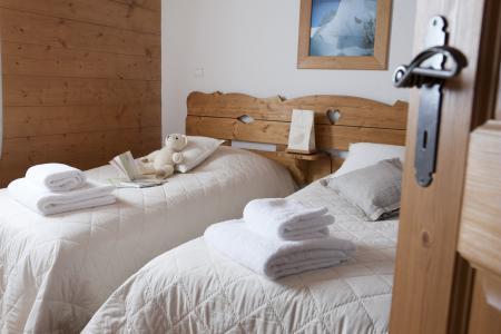 Vacances en montagne Résidence P&V Premium les Fermes du Soleil - Les Carroz - Lit simple
