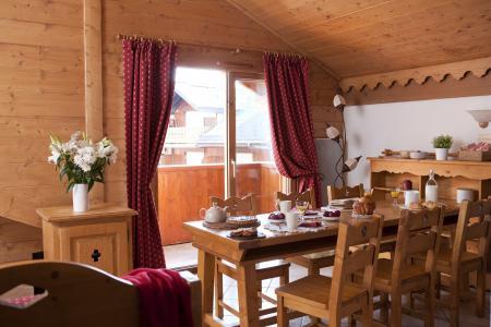 Vacances en montagne Résidence P&V Premium les Fermes du Soleil - Les Carroz - Salle à manger