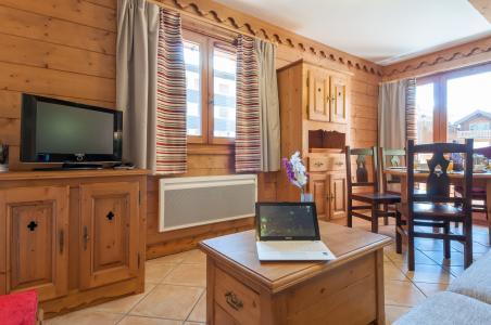 Vacances en montagne Résidence P&V Premium les Fermes du Soleil - Les Carroz - Tv à écran plat