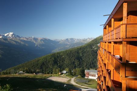 Location au ski Résidence P&V Premium les Hauts Bois - La Plagne - Extérieur été