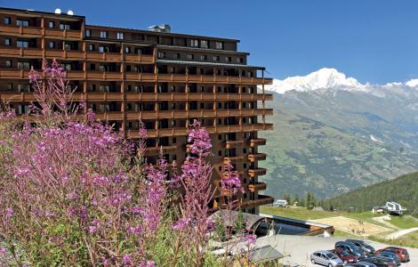 Vacances en montagne Résidence P&V Premium les Hauts Bois - La Plagne - Extérieur été