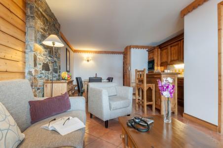 Vacances en montagne Résidence P&V Premium les Hauts Bois - La Plagne - Canapé