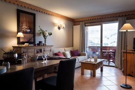 Vacances en montagne Résidence P&V Premium les Hauts Bois - La Plagne - Séjour