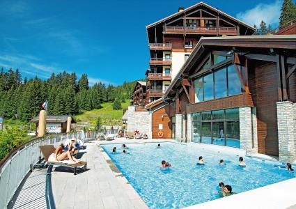 Location au ski Résidence P&V Premium les Terrasses d'Eos - Flaine - Extérieur été