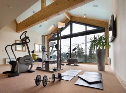 Vacances en montagne Résidence P&V Premium les Terrasses d'Eos - Flaine - Espace fitness