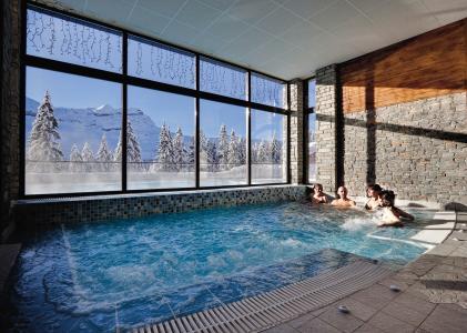 Vacances en montagne Résidence P&V Premium les Terrasses d'Eos - Flaine - Jacuzzi
