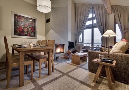Wakacje w górach Résidence P&V Premium les Terrasses d'Eos - Flaine - Pokój gościnny