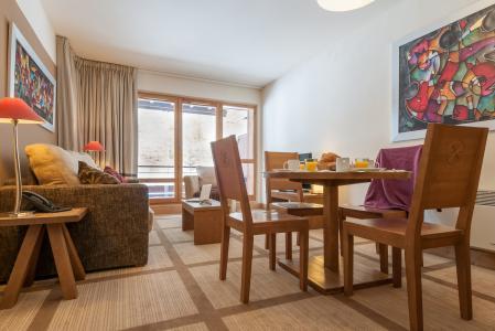 Vacances en montagne Résidence P&V Premium les Terrasses d'Eos - Flaine - Table