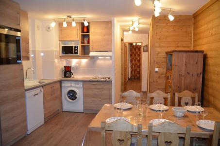 Vacances en montagne Appartement 3 pièces 6 personnes (PV54) - Résidence Pelvoux - Les Menuires - Cuisine