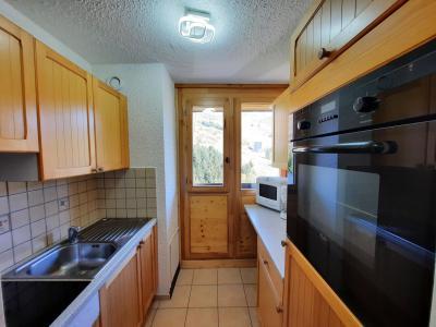 Vacances en montagne Appartement 3 pièces 8 personnes (106) - Résidence Pelvoux - Les Menuires - Cuisine