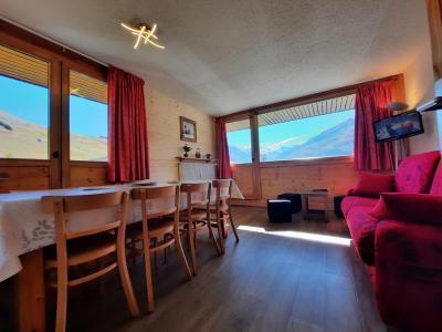 Vacances en montagne Appartement 3 pièces 8 personnes (106) - Résidence Pelvoux - Les Menuires - Séjour
