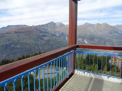 Location au ski Studio 5 personnes (910) - Résidence Pierra Menta - Les Arcs - Extérieur été