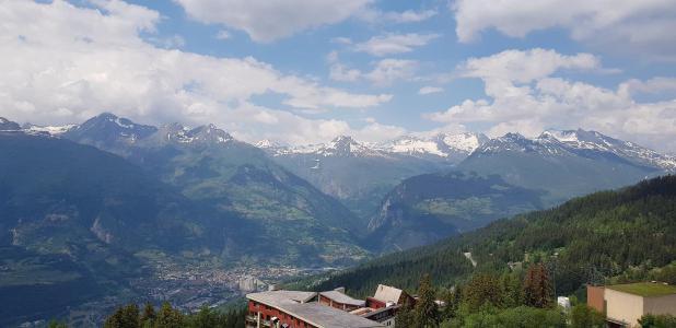 Vacances en montagne Studio 5 personnes (910) - Résidence Pierra Menta - Les Arcs - Extérieur été