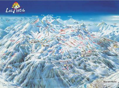 Vacances en montagne Studio cabine 4 personnes - Résidence Pierre Blanche - Les Arcs
