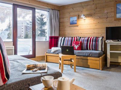 Vacances en montagne Appartement 2 pièces 5-7 personnes - Résidence Pierre & Vacances Balcons de Bellevarde - Val d'Isère